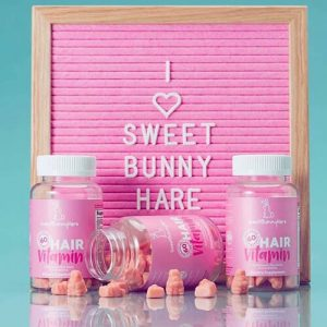 Kẹo thỏ mọc tóc Sweet Bunny Hare Hair Vitamin