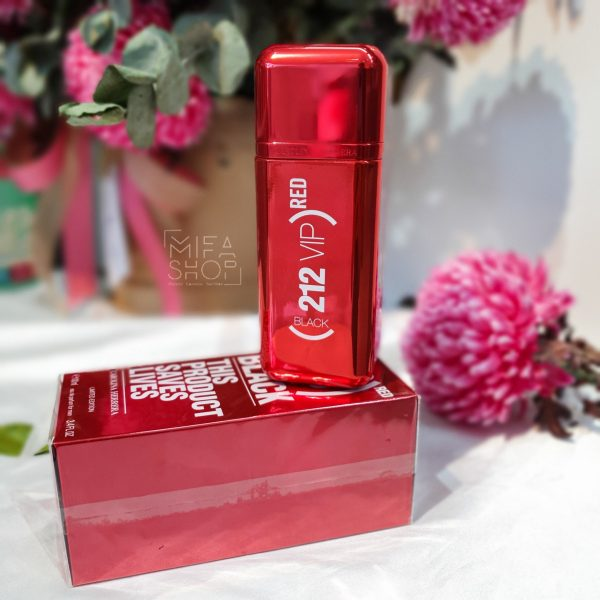 Nước hoa 212 VIP BLack Red This Product Saves Lives Limited Edition