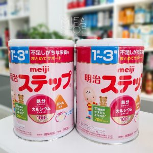 Sữa Meiji Nội Địa Nhật Bản 1-3 tuổi