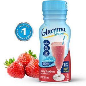 Sữa Nước Glucerna Shake Creamy Strawberry