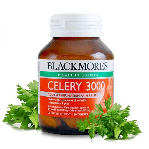 Viên uống Blackmores Celery 3000 phòng và điều trị Gút