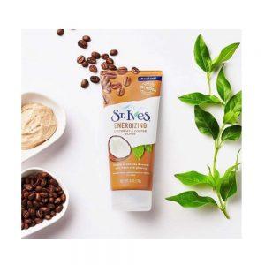 Sữa Rửa Mặt Tẩy Tế Bào Chết St.Ives Energizing Coconut And Coffee Scrub 170G 1
