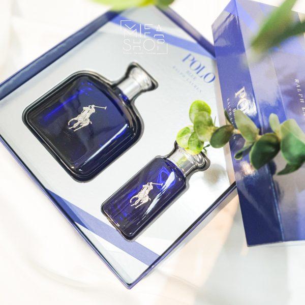 Bộ Quà Tặng Nước Hoa Polo Blue Ralph Lauren 125ML Và 30ML 02