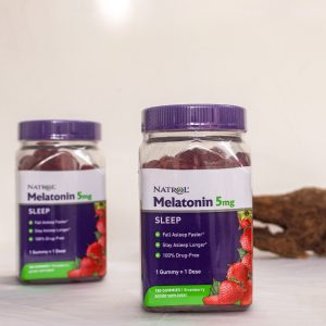 Kẹo dẻo cải thiện giấc ngủ Natrol Gummies Melatonin 5mg 02