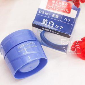 Kem dưỡng da đêm Shiseido Aqualabel White Care Cream 50g