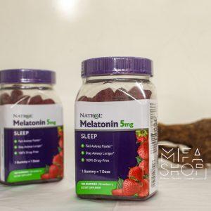 Kẹo dẻo cải thiện giấc ngủ Natrol Gummies Melatonin 5mg