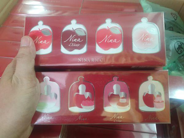 Bộ Quà Tặng Nước Hoa Nina Ricci 4 Loại