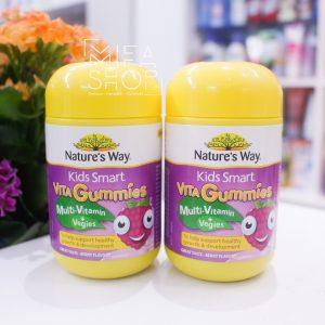 Kẹo dẻo hỗ trợ tiêu hóa Vita Multi-Vitamin Gummies Nature's Way 60 Viên