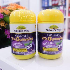Kẹo dẻo tăng sức đề kháng cho trẻ Vita Cold And Flu Immunity Nature Way 60 viên