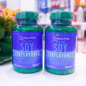 Viên Uống Mầm Đậu Nành Non-Gmo Soy Isoflavones 120 viên