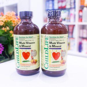 Vitamin tổng hợp cho bé Vitamin Mineral ChildLife 237ml