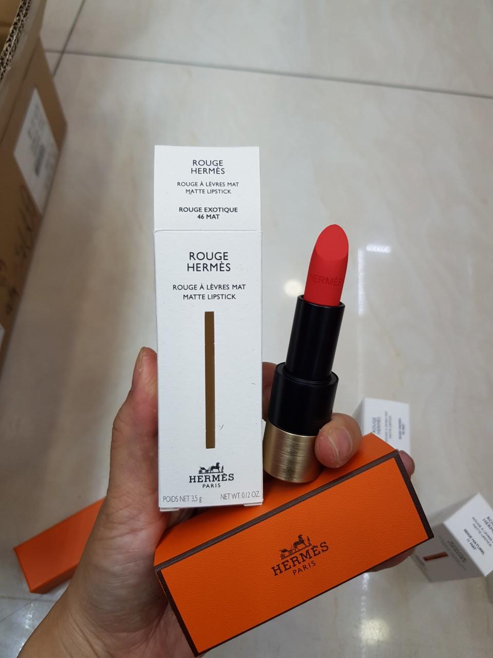 Son Rouge À Lèvres Mat Matte Lipstick Hermès | Mifashop