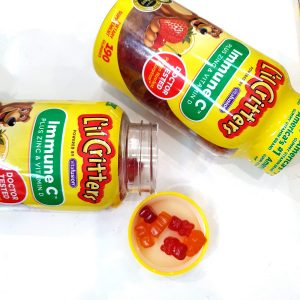 Kẹo dẻo L'il Critters Immune C plus zinc và vitamin d mifashop 6
