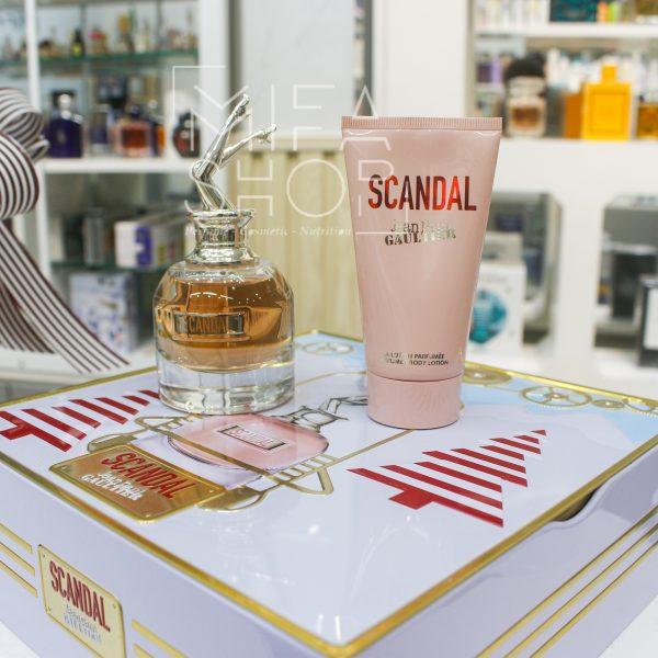 Bộ nước hoa Scandal Jean Paul Gaultier 50ml, Lotion 75ml