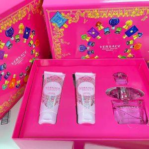 Bộ Nước Hoa Versace Bright Crystal Absolu