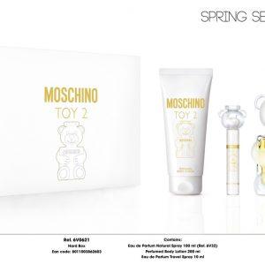 Gift Set Nước Hoa Moschino Toy 2 – Spring Set 2021