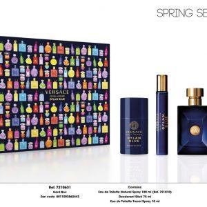 Bộ Nước Hoa Versace Pour Homme Dylan Blue