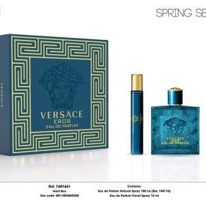 Bộ Nước Hoa Versace Eros Pour Homme 2pcs